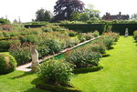 French garden photo
