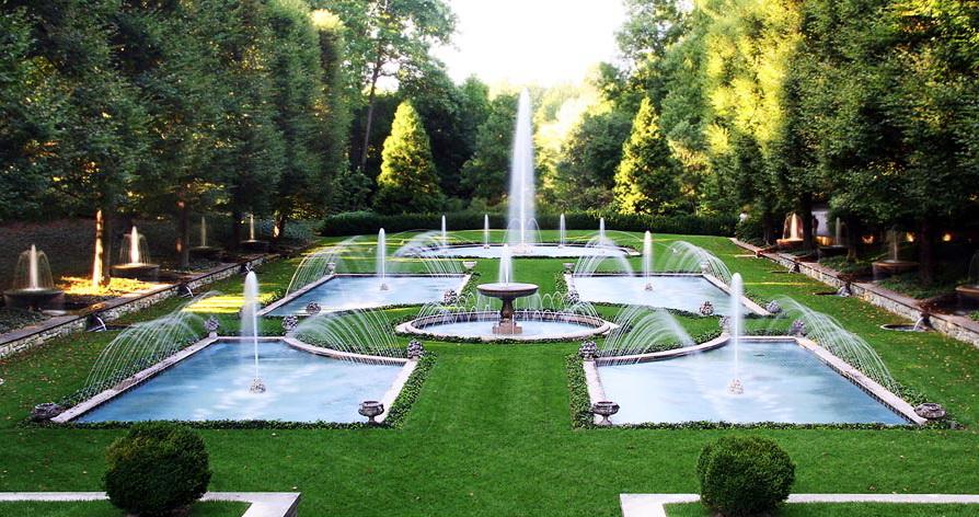 Итальянский водяной сад.